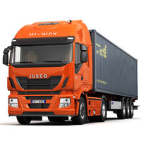 Iveco Stralis HI-WAY (container)