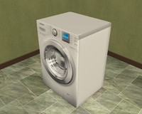 3d samsung washing machine