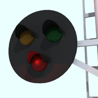 Railroad / Train Signal Light