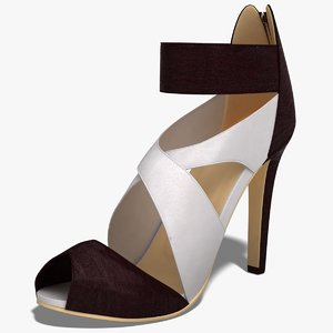 dugm03 shoes 3d c4d
