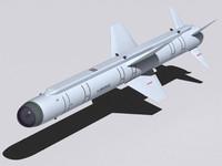 missiles kh-38mle 3d model