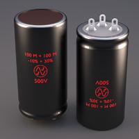 electrolytic capacitor jj obj