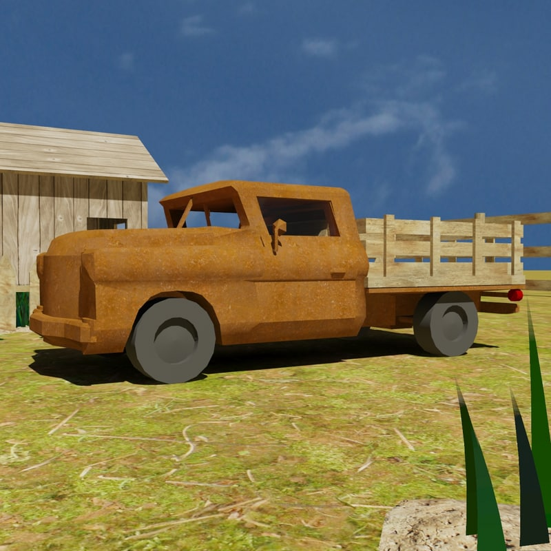 old farm car truck