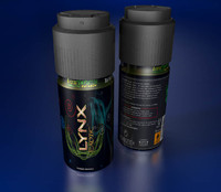 cinema4d deodorant spray