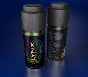 cinema4d deodorant spray