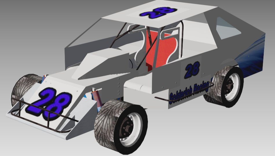 max racing dirt track modified