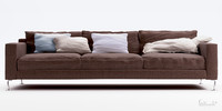 3d modern furniture sofa model