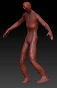 3d model funny monster
