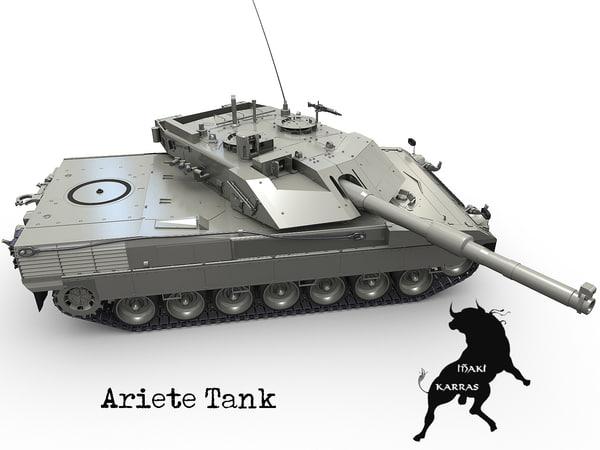 3ds max tank ariete