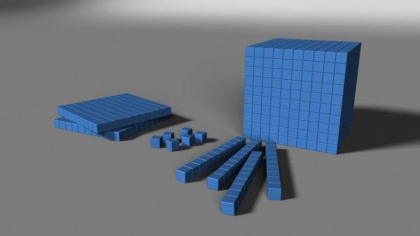 teaching base 3d model