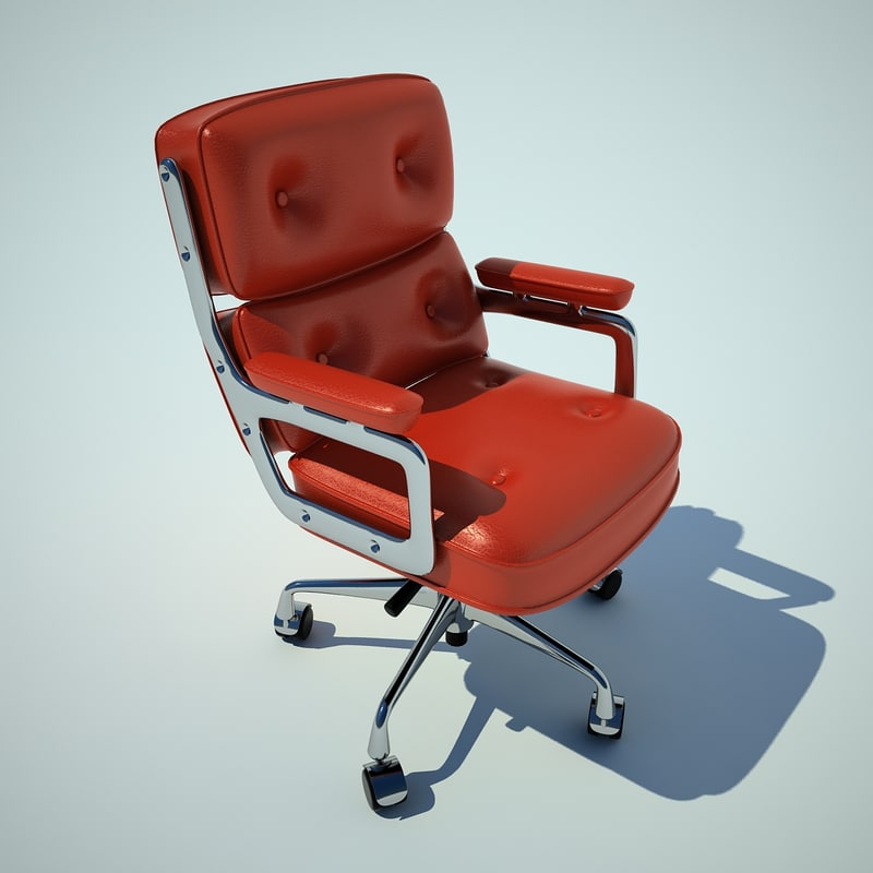 eames charles fauteuil 3d max