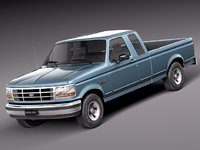 Ford F-150 Super Cab 1992-1996