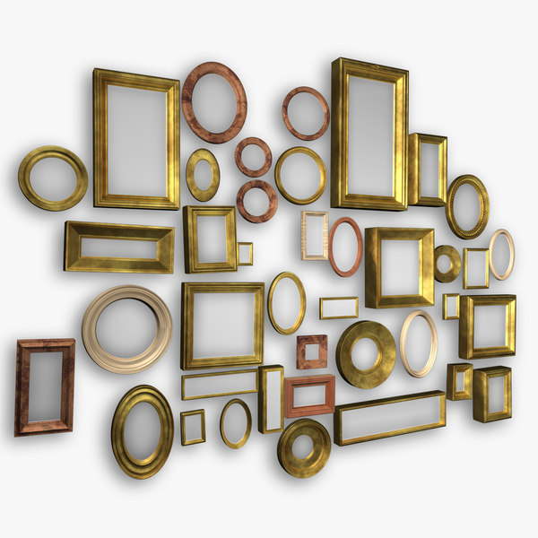 collections picture frame 3d c4d
