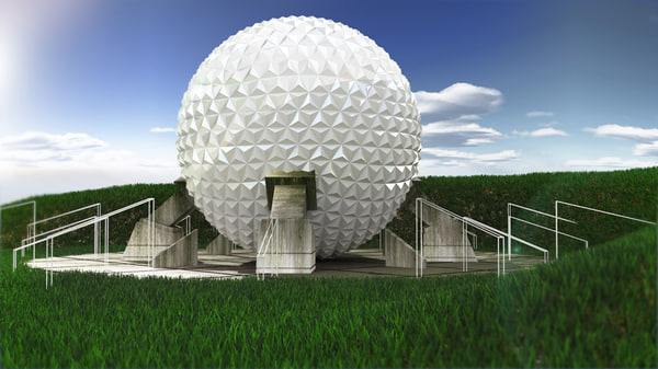 geodesic sphere 3d max