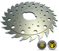 3d model saw blade