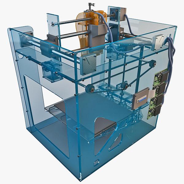 3d max home printer