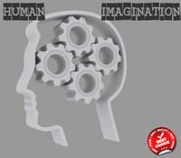 3d imagination creativity