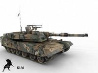 K1A1 ROK Army Scheme