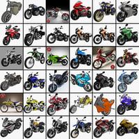 3ds max motorcycles 19 cycle