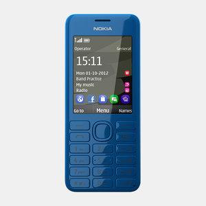 max nokia 206 mobile phone