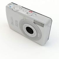 canon ixus 65 3d model