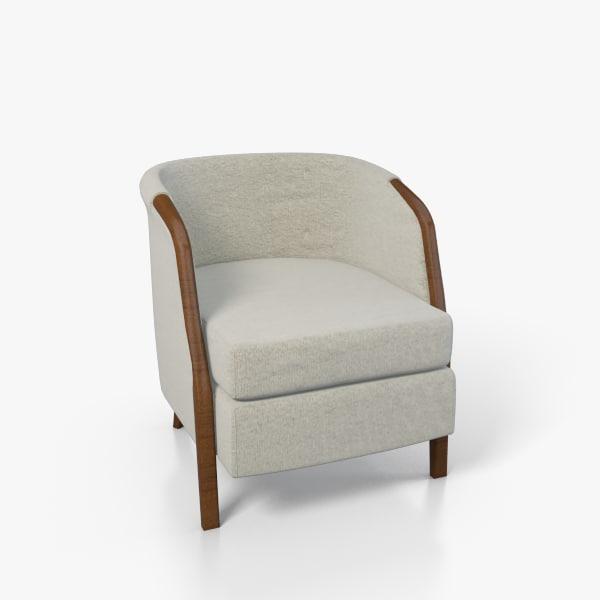 obj armchair chair