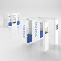 3d model cellular sale stand