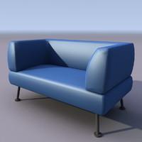 3d model of sofa armchair