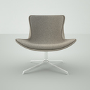 obj designer chair modern