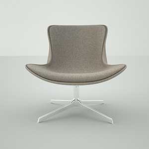 obj designer chair modern
