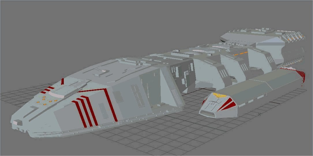 battlestar galactica 3d models