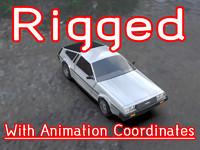 3d car ready animation