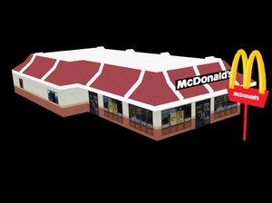 3d mcdonald s