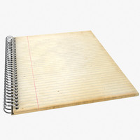 3d lwo notebook prop