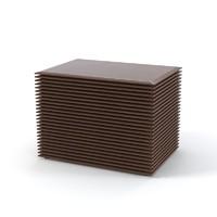 porada riga chest 3d model