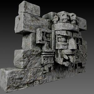 stone head 3d max