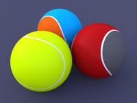 ball tennis 3d c4d