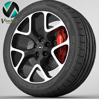 Wheel Opel Insignia OPC 7