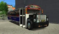 3d buses z3d model