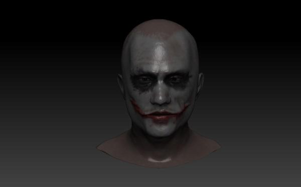 3d dark knight s joker model