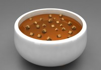tomato soup 3d max