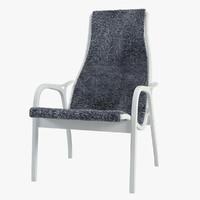 3d lamino armchair
