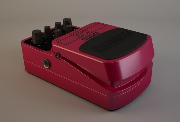 guitar pedal max