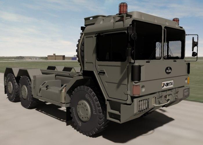 3d model hungarian military raba h25