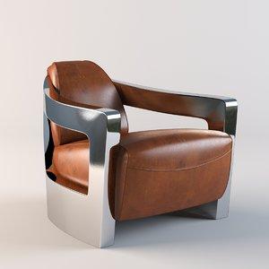 mars armchair chair obj