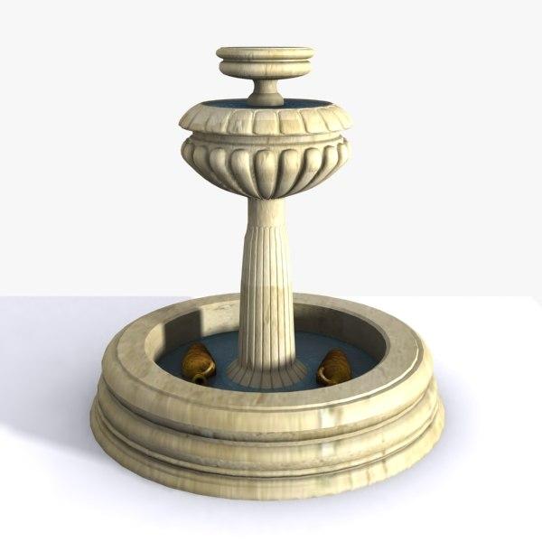 max stone fountain amphoras
