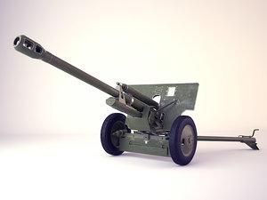 divisional gun zis-3 soviet 3ds