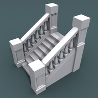 3d model stairs staircases