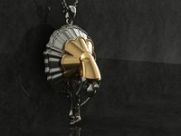ballet dancer pendant