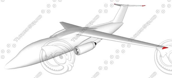 antonov an-148 3d model